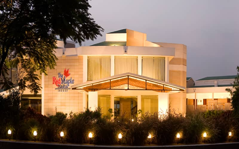 The Red Maple Mashal,Indore